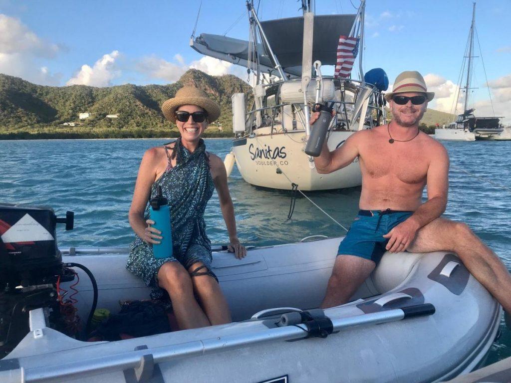 Nomadic FIRE Floats Our Boat Mike and Jenn Sanitas Quarantine