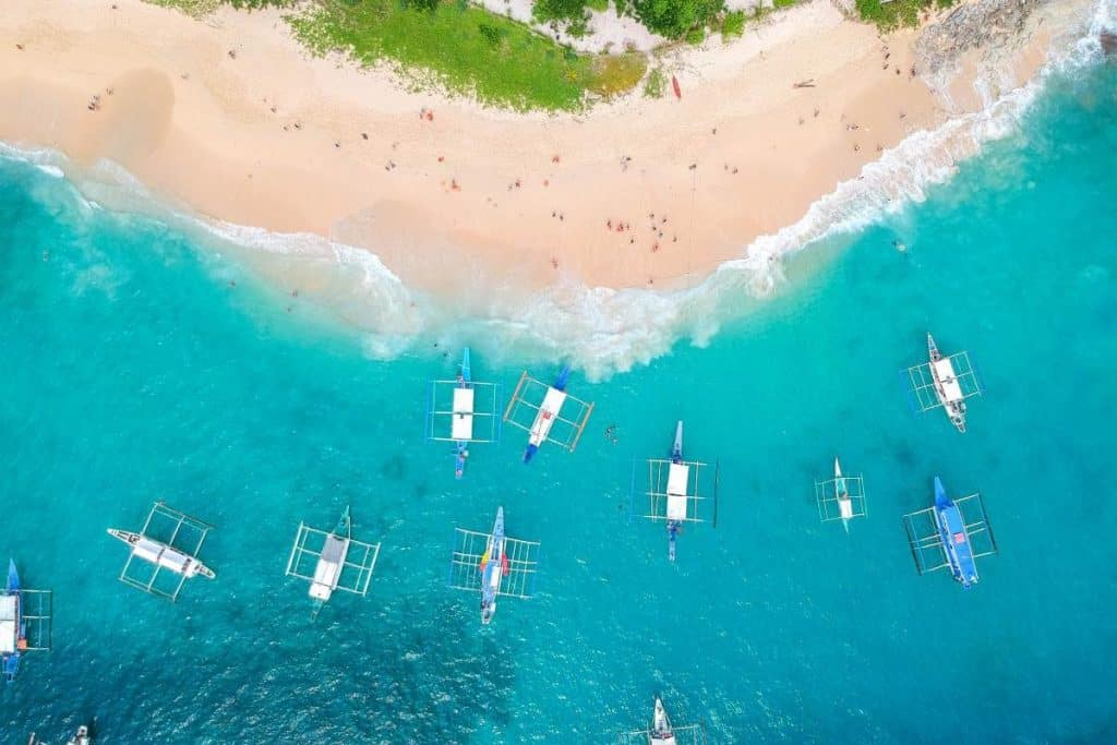 Nomadic FIRE Philippines Palawan Arial View