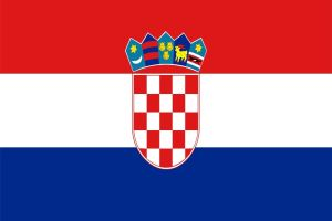 Nomadic FIRE Croatia Flag