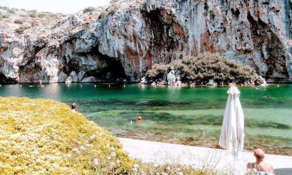Nomadic FIRE Greece Athens Lake Vouliagmeni