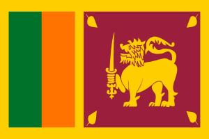 Nomadic FIRE Sri Lanka Flag
