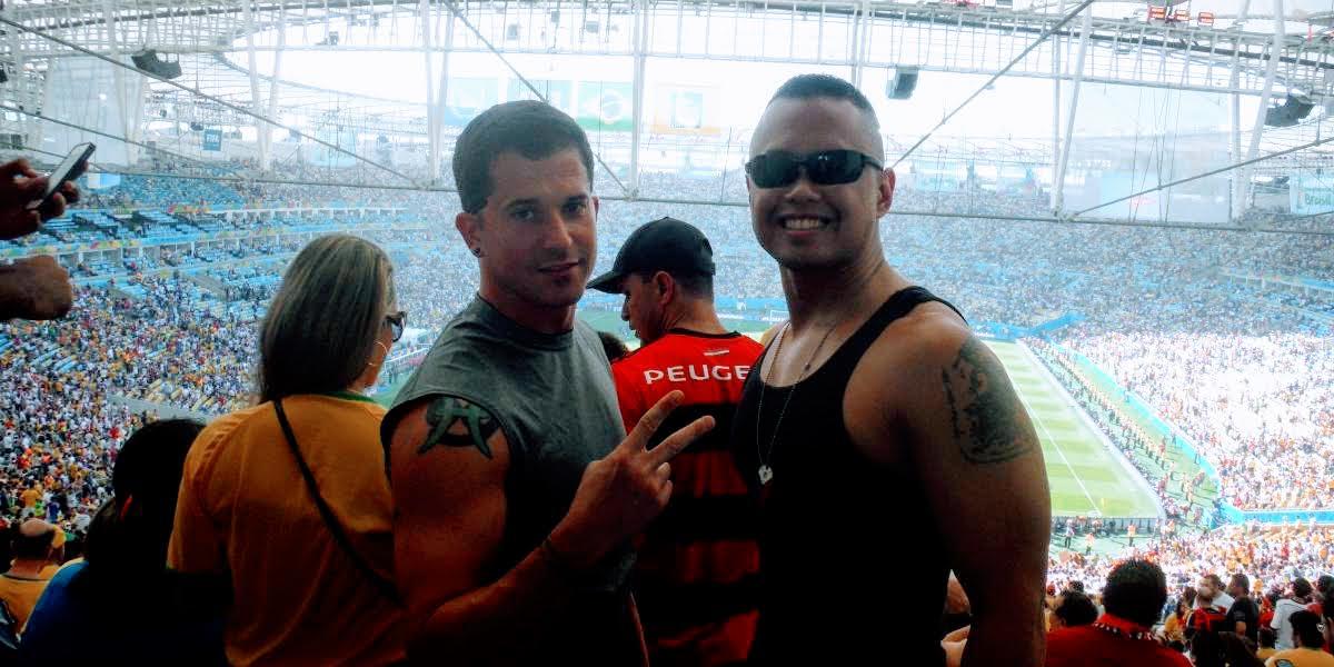 Nomadic FIRE Brazil Rio Football