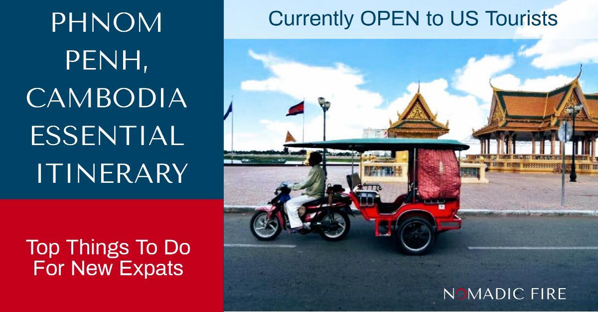 Nomadic FIRE Cambodia Phnom Penh Essential Itinerary