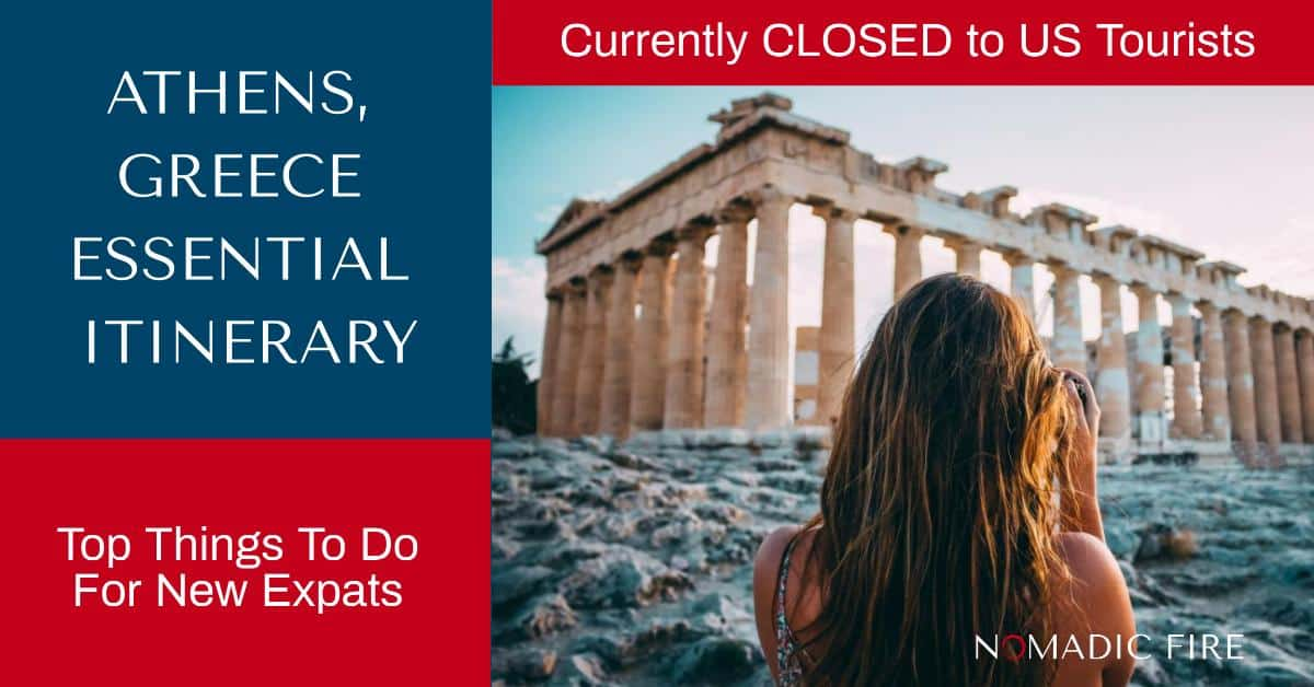 Nomadic FIRE Greece Athens Essential Itinerary