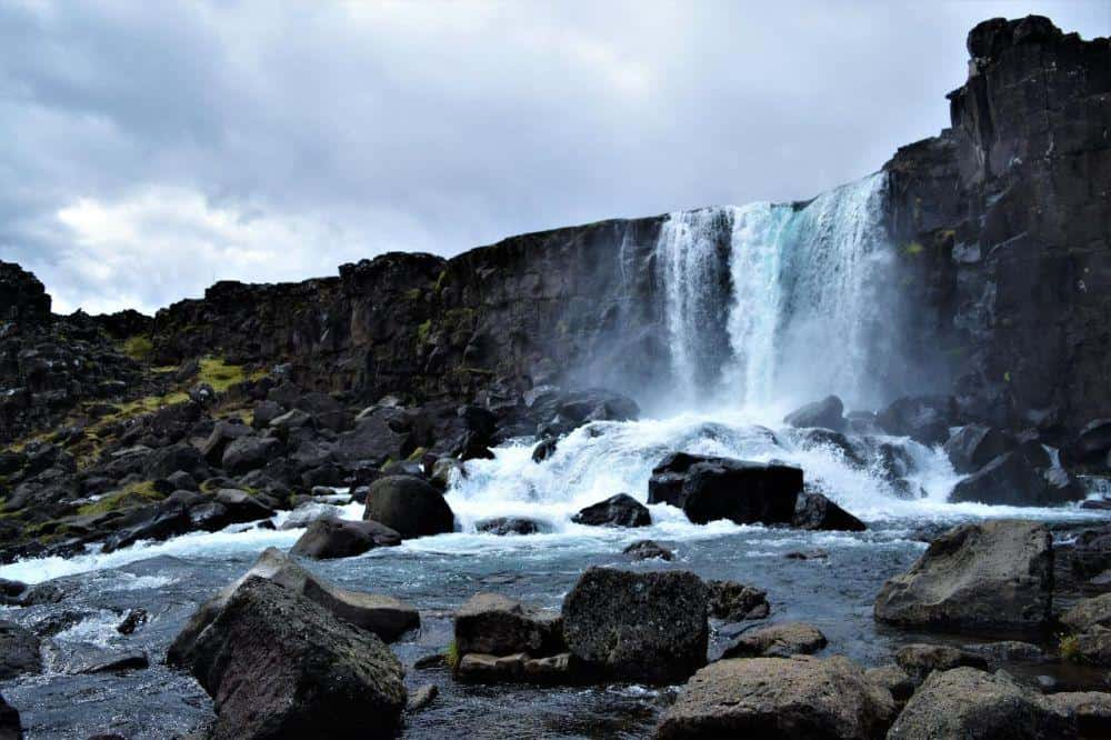 Nomadic FIRE Iceland Öxarárfoss Waterfalls