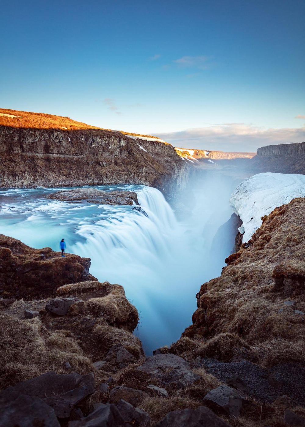 Nomadic FIRE Iceland Gullfoss Waterfalls