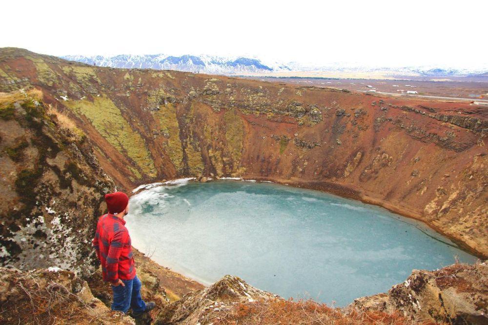 Nomadic FIRE Iceland Kerid Crater