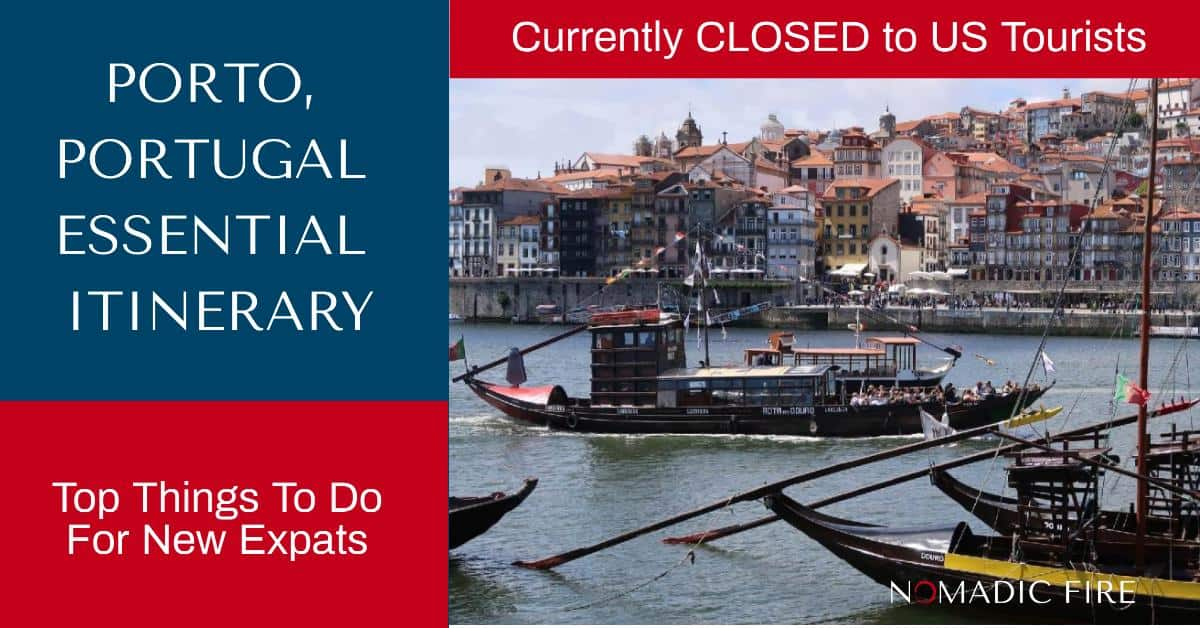 Nomadic FIRE Portugal Porto Essential Itinerary